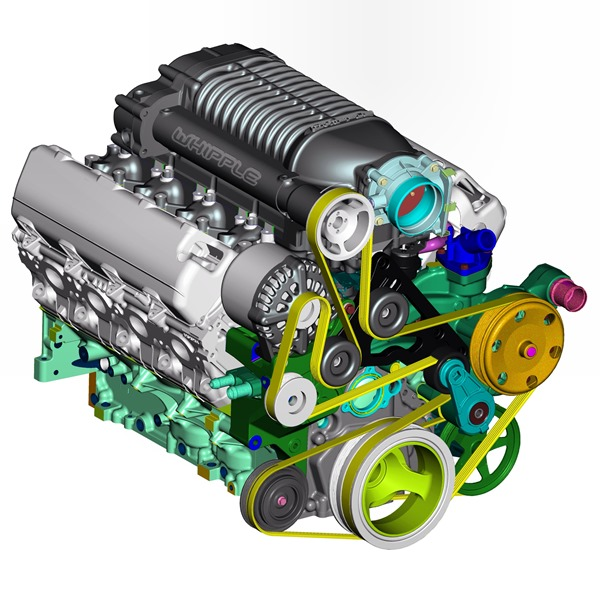 Whipple Supercharger Silverado 6 0