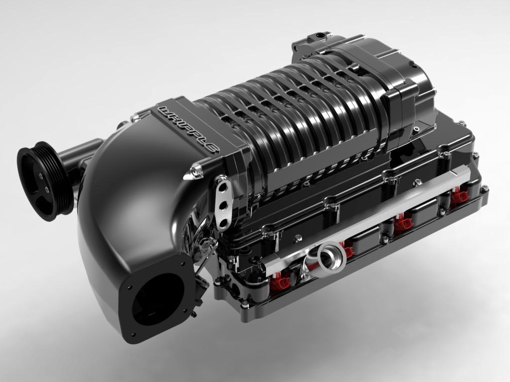 2008 2010 Dodge Challenger 6 1l Supercharger System