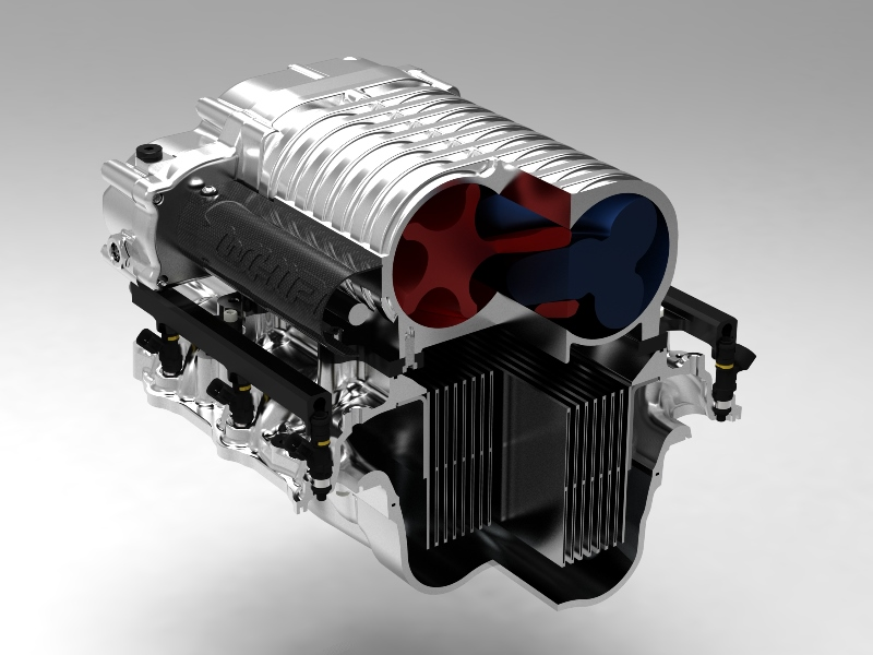 2011-2014 Whipple twin-screw stage 2 supercharger system ...